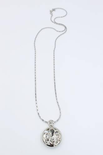 Sparkle Clover Pendant