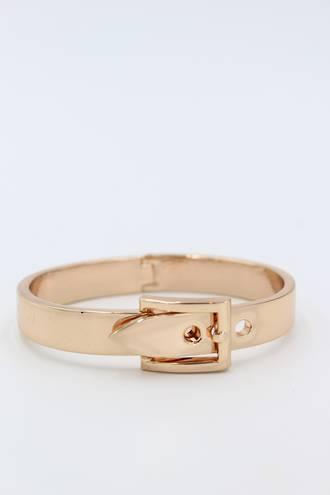 Rose Gold Belt Bangle