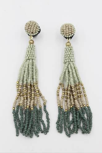 Green Mist Earrings