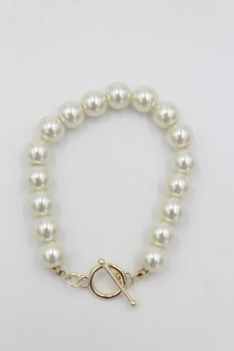 Nina Pearl Fob Bracelet