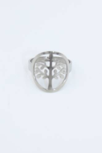 Lone Kauri Stainless Steel Ring