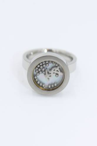 Looking Glass Stainless Steel Ring