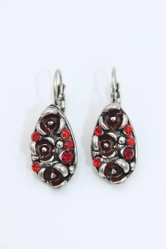 Vintage Garnet Earrings
