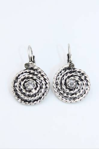 Rope Twist Earrings