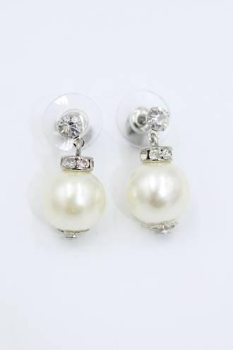 Bauble Pearl Earrings
