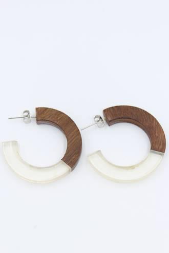 Woodland Loop Earrings