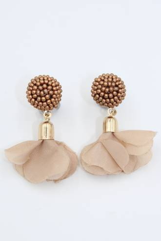 Blush Petal Earrings