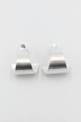 Cove Silver Earring