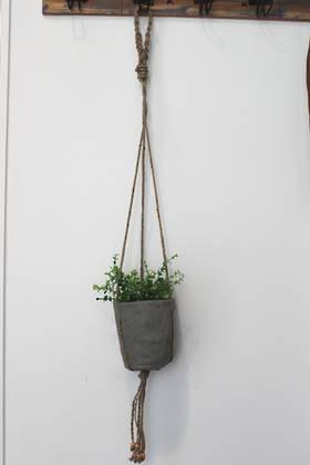 Jute Pot Plant Holder