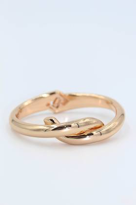 Snake Rose Gold Bangle