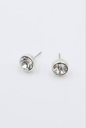 Carson Silver Stud Earring