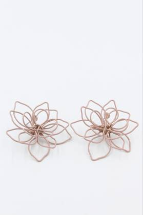 Lilypad Blush Earrings