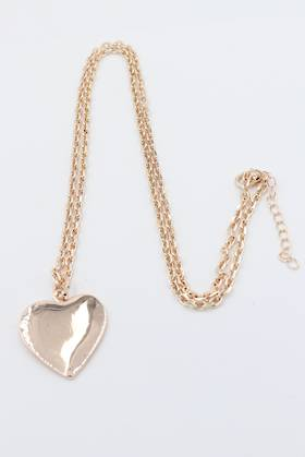 Milly Heart Necklace Rose Gold