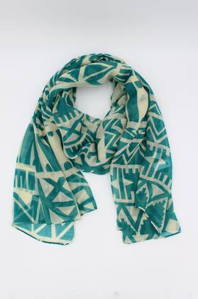 Teal Folly Scarf