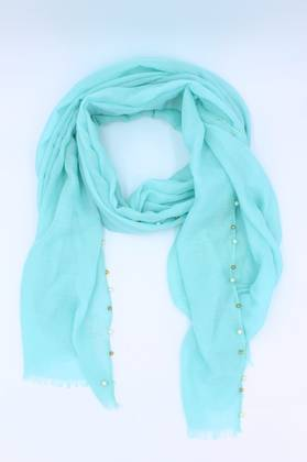 Cloud Nine Aqua Scarf