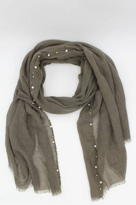 Cloud Nine Coffee Scarf
