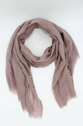 Cloud Nine Plum Scarf