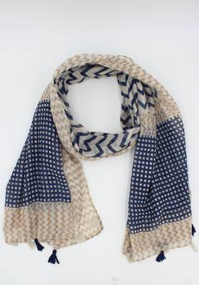 Ziggy Natural Scarf