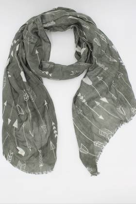 Beau & Arrow Olive Scarf