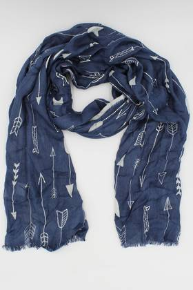 Beau & Arrow Blue Scarf