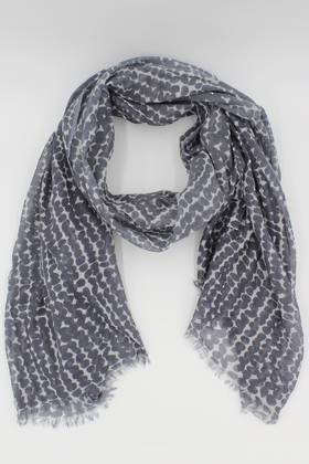 Clay Spotted Scarf