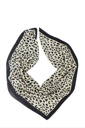 Zambezi Cream Square Neck Scarf