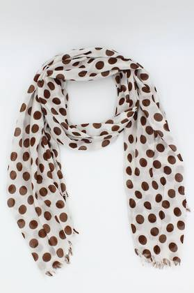 Chocolate Spotted Scarf