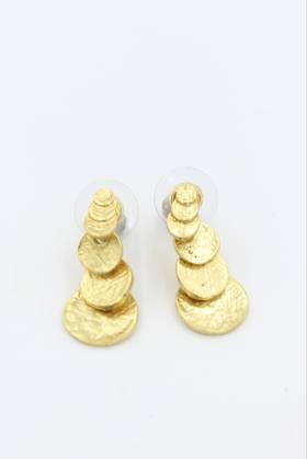 Zanzibar Brass Earring