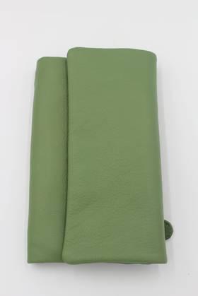 Stockholm Leather Wallet Sage