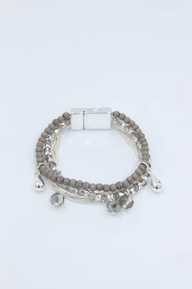 Gypsy Queen Grey Bracelet