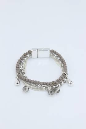 Gypsy Queen Grey Bracelet