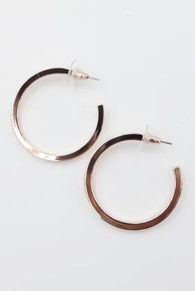 Urban Loop Earrings Rose Gold