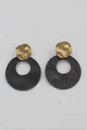 Eva Grey Earrings
