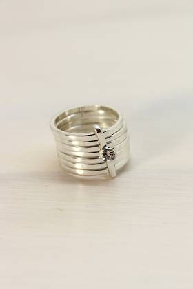 Silver Trove Ring