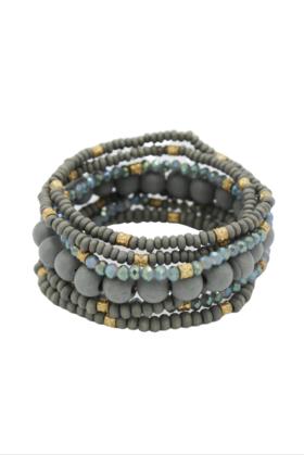 Bermuda Grey Bracelet