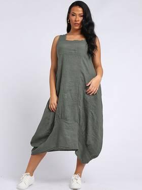 Gabriella Dress Khaki