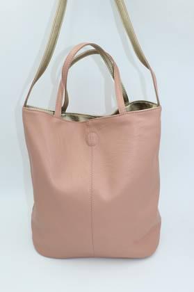 Tote Pink & Gold Reversible Tote Bag