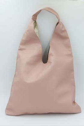 Sling Reversible Pink & Gold Reversible Bag