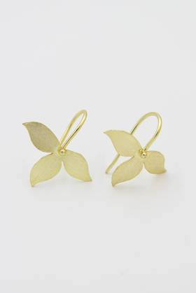 Petal Brass Earrings