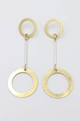 Rilee Double Loop Earrings