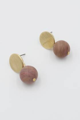 Blush Ball Earrings