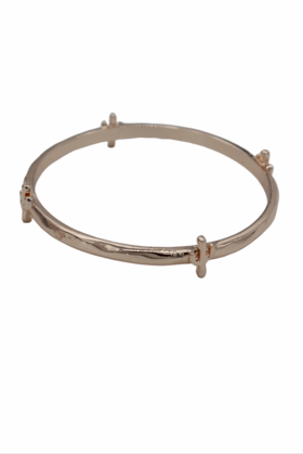 Cactus Rose Gold Bangle