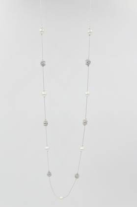 Twister Pearl Necklace