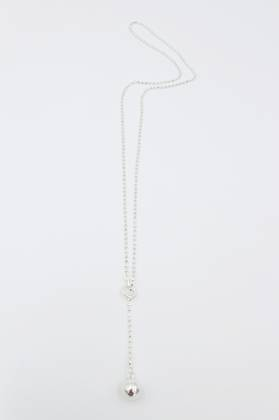 Silver Bomb Necklace