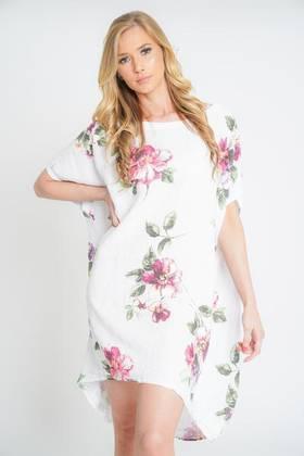 Adeline White Linen Top/Dress