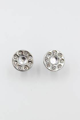 Diamond Petal Stainless Steel Earring