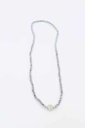 Flicker Grey Necklace