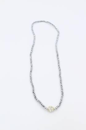 Flicker Grey Necklace