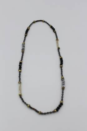 Indian Summer Necklace Black