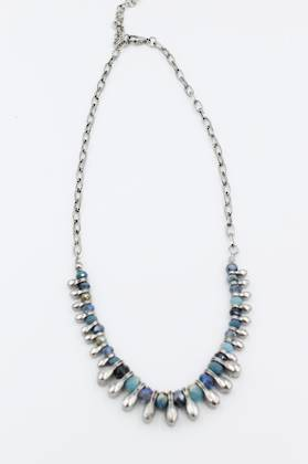 Marrakesh Necklace Blue